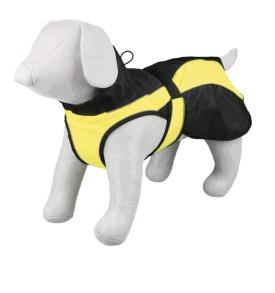 Säkerhetstäcke svart och gul
