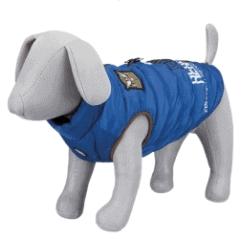 hundtäcke sele blå