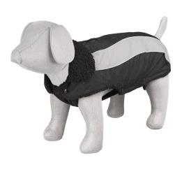 vintertäcke för hunden i plyschfoder