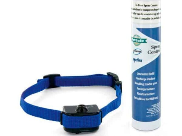 antiskallhalsband med spray